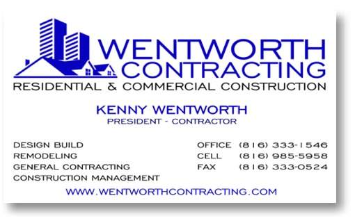 Wentworth Contracting Services Business card