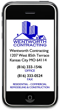 Wentworth Contracting, 1207 W 85th Terr, KCMO 64114 - (816) 333-1546