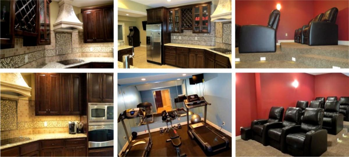 Lewis Basement Remodel by Wentworth Contracting Services, Kansas City, Mo